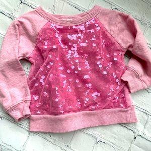 Truly Scrumptious by Heidi Klum Sequin Sweatshirt